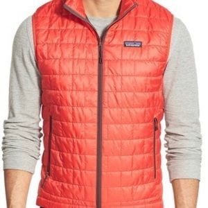 Patagonia Red Full Zip Nano Vest
